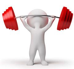 Тяжёлые физические нагрузки