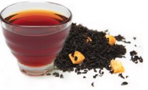 черный сладкий чай