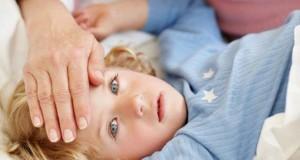 у ребенка температура