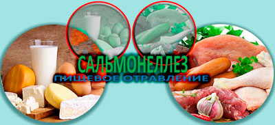 Сальмонеллез пищевое отравление