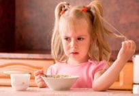 У ребёнка после еды болит живот