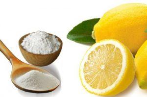 пищевая сода с лимоном