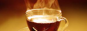 Крепкий черный чай