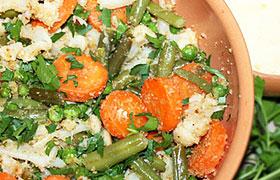 овощи и фрукты отварные